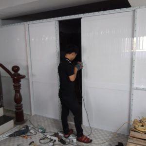 thợ sửa cửa nhôm kính tại bình dương - thu mua vách cũ giá cao