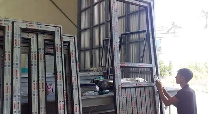 thợ làm cửa nhôm kính vách ngăn tại bình dương
