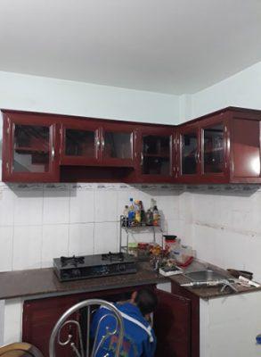 làm tủ nhôm kính quận 7 - thi công tủ bếp chuyên nghiệp lh 077.666.8676