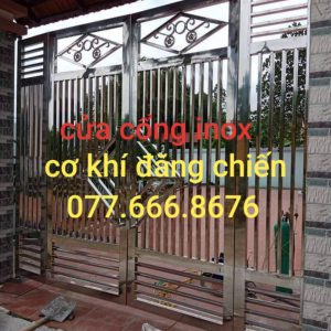 làm cửa cổng inox tại đồng nai lh 077.666.8676 chiến giá rẻ chuyên nghiệp